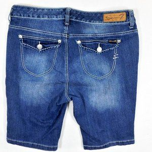 Seven7 Est 1964 Jean Shorts Flap Back Pockets 16